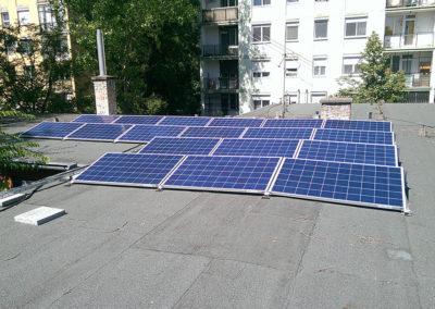 Budapest Csengettyű u. 4.5 kWp