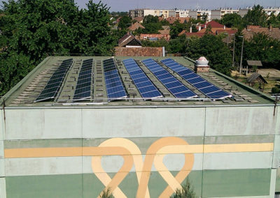 Mezőtúr Rákóczi 32 kWp